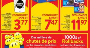 Circulaire Walmart du 29 octobre au 4 novembre 2020