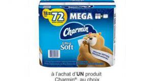 Coupon de 3$ à l'achat d'un produit Charmin au choix