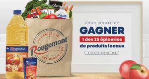Gagnez 1 des 25 paniers d'épicerie de produits locaux