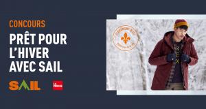 Gagnez 3 prix de 1000$ en cartes-cadeaux SAIL