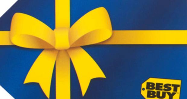 Gagnez Une carte cadeau de 250$ chez best Buy