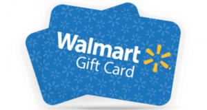 Gagnez l'une des 10 cartes cadeaux Walmart