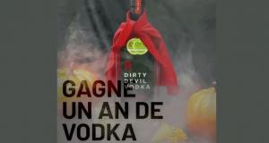 Gagnez une année de vodka gratuite (Valeur de 2500$)