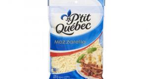 Rabais de 2.30$ sur Fromage râpé Mozzarella P'tit Québec
