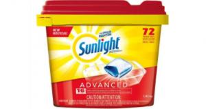 Rabais de 5$ sur Lessive pour lave-vaisselle Sunlight
