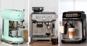 Une machine à espresso Breville Barista Express