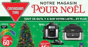 Circulaire Canadian Tire du 26 novembre au 2 décembre 2020