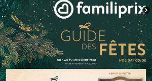 Circulaire Familiprix du 5 novembre au 25 novembre 2020