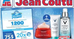 Circulaire Jean Coutu du 19 novembre au 25 novembre 2020