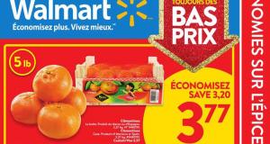 Circulaire Walmart du 19 novembre au 25 novembre 2020