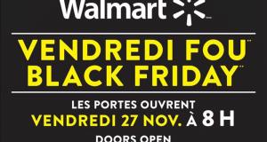 Circulaire Walmart du Vendredi Fou 2020