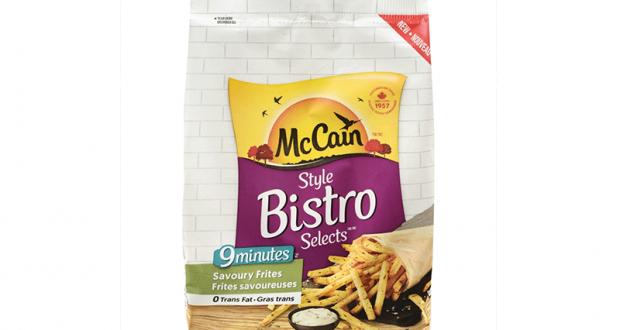 Coupon de 1$ sur les McCain Style Bistro Frites Savoureuses