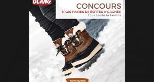 Gagnez 1 des 3 paires de bottes d'hiver Olang Canada