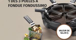 Gagnez 3 Poêles à fondue Fondussimo