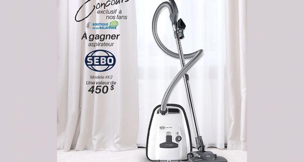 Gagnez Un aspirateur de la marque SEBO Canada