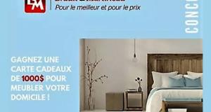 Gagnez Une Carte-cadeau Brault & Martineau de 1000$