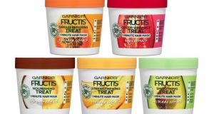 Testez les masques Garnier Fructis Hair Treat