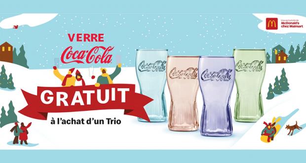 Verres Coca-Cola série limitée 2020 gratuits