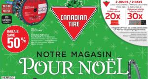 Circulaire Canadian Tire du 3 décembre au 9 décembre 2020