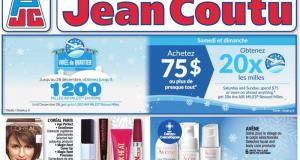 Circulaire Jean Coutu du 10 décembre au 16 décembre 2020