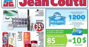 Circulaire Jean Coutu du 17 décembre au 24 décembre 2020