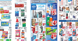 Circulaire Jean Coutu du 2 janvier au 6 janvier 2021