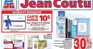 Circulaire Jean Coutu du 3 décembre au 9 décembre 2020