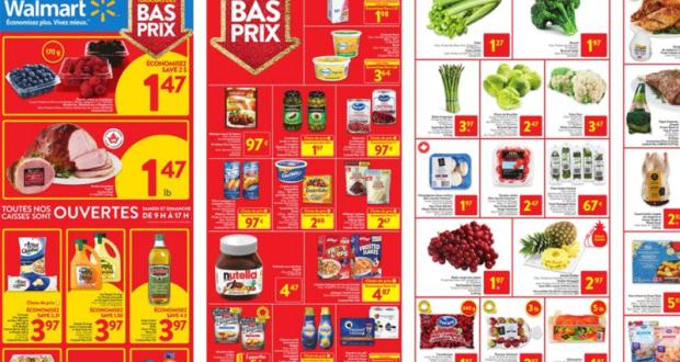 Circulaire Walmart du 17 décembre au 23 décembre 2020