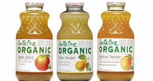 Testez les jus bio de la compagnie Santa Cruz Organic