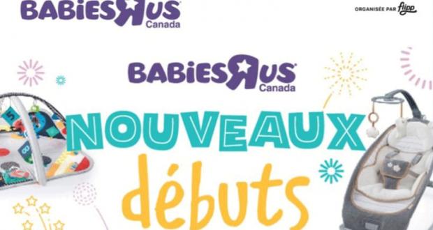 Circulaire Babies R Us du 14 janvier au 20 janvier 2021