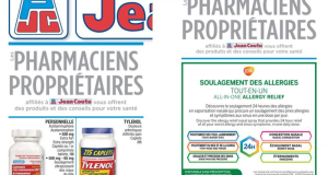 Circulaire Jean Coutu du 28 janvier au 3 février 2021