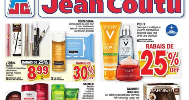 Circulaire Jean Coutu du 7 janvier au 13 janvier 2021