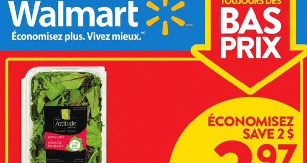 Circulaire Walmart du 14 janvier au 20 janvier 2021