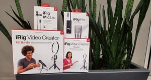 Gagnez 3 ensembles de création vidéo iRig d'IKM