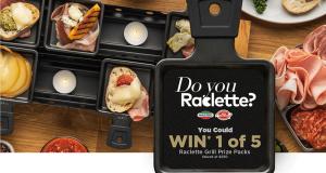 Gagnez 5 appareils à raclette Mastro et San Daniele