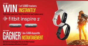 Gagnez 5000 bracelets d'activité Fitbit