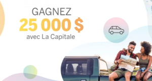 Gagnez Un (1) chèque de 25 000$