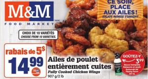 Circulaire Les Aliments M & M du 25 février au 3 mars 2021