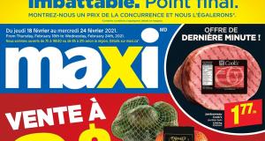 Circulaire Maxi du 18 février au 24 février 2021