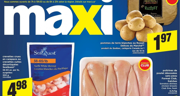 Circulaire Maxi du 25 février au 3 mars 2021