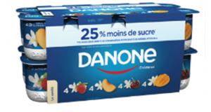 Coupon de 0.50$ sur un produit Danone Crémeux au choix