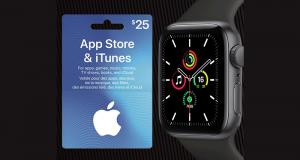 Gagnez Une montre Apple Watch SE et une carte App Store & iTunes
