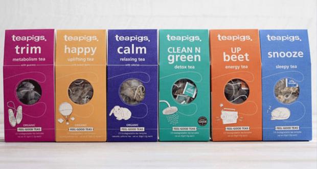 Thés Feel Good Teas de Teapigs à tester gratuitement