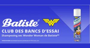 100 shampooings secs Wonder Woman de Batiste à tester