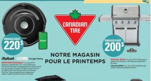 Circulaire Canadian Tire du 25 mars au 31 mars 2021