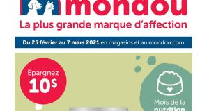 Circulaire Mondou du 25 février au 7 mars 2021