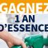 Gagnez UN AN d'essence chez Shell Ou 5000 $ en argent