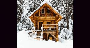 Gagnez un week-end dans un chalet en bois rond