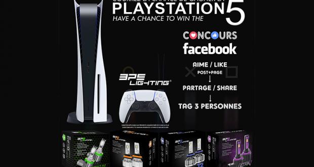 Gagnez une PS5 gratuitement
