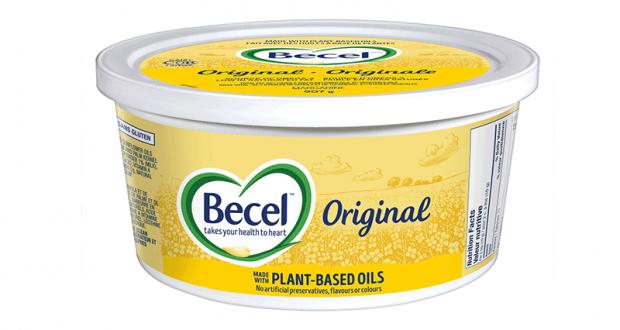 Margarine Becel à 99¢ au lieu de 3.49$